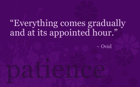 Quotepatience